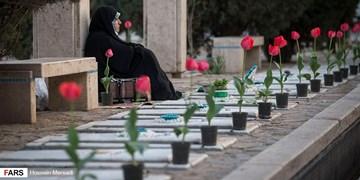 گلباران مزار شهدای قرچک به مناسبت فرارسیدن هفته دولت