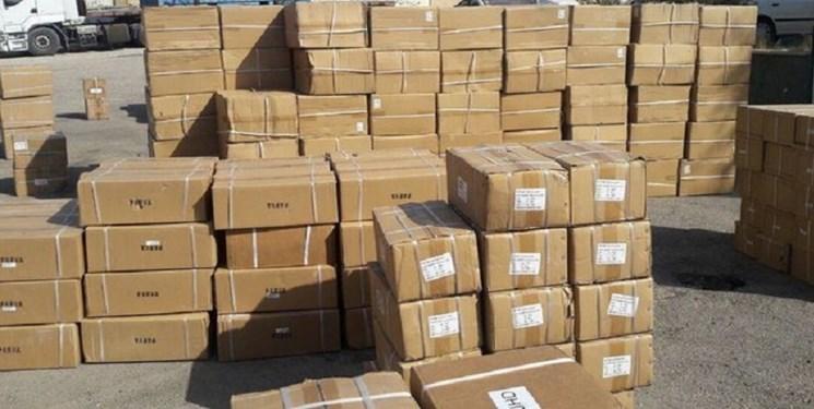 کشف 190 میلیارد ریال کالای قاچاق در نظرآباد