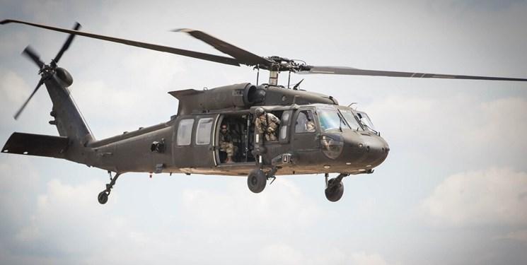 سقوط بالگرد «بلک هاوک» ارتش آمریکا؛ تلفات یک کشته و سه مجروح