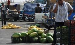ساماندهی وانتداران میوه فروش در گلوگاههای شهری استان زنجان