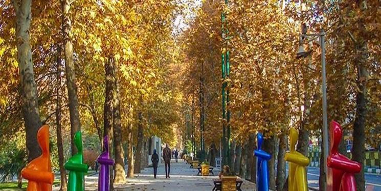 پائیزگردی در خیابان ۹۰ ساله پایتخت