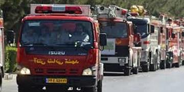 هشدار درباره کرونا با خودروهای آتشنشانی/ «درخانه بمانید»