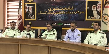برخورد قهری و قاطع پلیس گلستان با مجرمان خشن