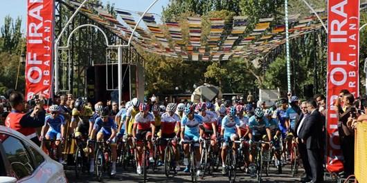ثبت پوشش زنده مسابقات دوچرخه سواری برای اولین بار در کشور به نام تبریز