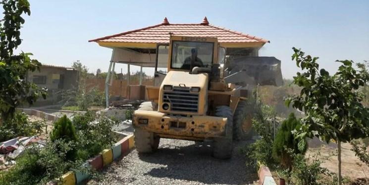 آزادسازی ۳۰ هزار مترمربع از اراضی کشاورزی فیروزکوه