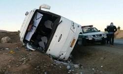 21 کشته و زخمی در واژگونی اتوبوس سرویس کارکنان پالایشگاه