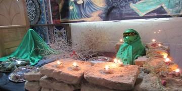 برگزاری مراسم سوگواری شهادت حضرت رقیه (س) در مهریز + تصاویر