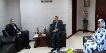 تأکید وزیر خارجه موریتانی بر تقویت همه جانبه روابط با ایران