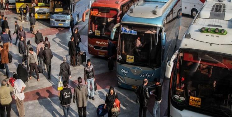 کاهش ورود 83 درصدی مسافران به تهران