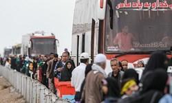 فیلم| آخرین وضعیت تردد زائران اربعین در مرز شلمچه