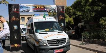 اعزام کاروان اورژانس برای ارائه خدمات به زائران اربعین از آذربایجان شرقی