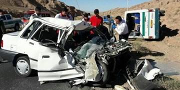 سانحه رانندگی در محور ورزقان-  خواجه با 11 کشته و زخمی