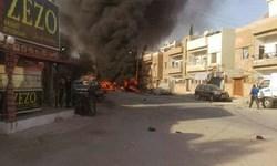انفجار خودرو در قامشلی سوریه؛ 4 کشته و 9 زخمی