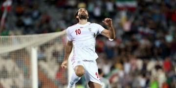 فیلم  گل سوم تیم ملی ایران مقابل هنگ کنگ توسط انصاری فرد
