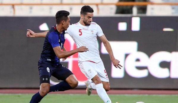 گل چهارم تیم ملی با گل به خودی مدافع کامبوج