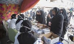 نذر ۵۰ هزار سپیدپوش برای خدمت رسانی به زائران حسینی