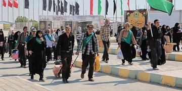 اعزام کاروان زائر اولیها به پیادهروی اربعین