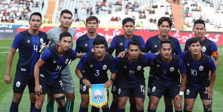 ترکیب کامبوج برای بازی با تیم ملی کشورمان مشخص شد