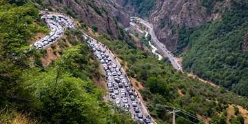 کاهش ورود خودروها به محورهای مواصلاتی مازندران/ پیشبینی ترافیک در مسیرهای ییلاقی به سمت شهرها