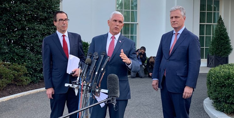 آمریکا دو وزارتخانه و سه وزیر ترکیه را تحریم کرد