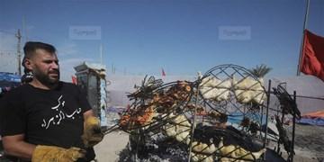 گامهایی به سوی کعبه آزادگان؛ تصاویر شبکه عراقی از موکبهای حسینی
