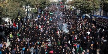 حضور شکوهمند مردم تهران در پیادهروی جاماندگان اربعین+عکس و فیلم