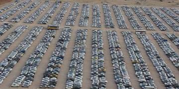 24 خودرو متخلف گردشگران در ایلام به پارکینگ منتقل شد