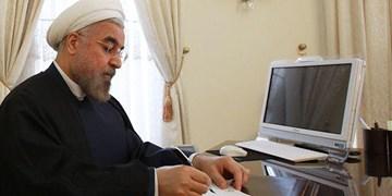 پیام تبریک روحانی بهمناسبت فرارسیدن روز ملی موریتانی