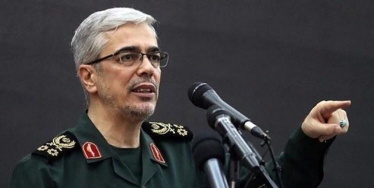 سرلشکر باقری: کوچک ترین اقدام آمریکا علیه ایران با شدیدترین واکنش ما روبرو خواهد شد