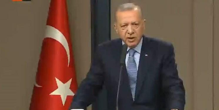 اردوغان: روسیه و آمریکا به تعهداتشان در شمال سوریه عمل نکردند