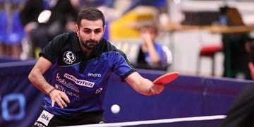 تور جهانی تنیس روی میز قطر| صعود نوشاد عالمیان به دور چهارم با شکست بازیکن قزاق