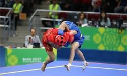 ووشو قهرمانی جهان  درخشش هشتمین مدال طلا دور گردن خورشیدی