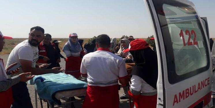 خدماترسانی هلالاحمر خوزستان به بیش از 47 هزار زائر