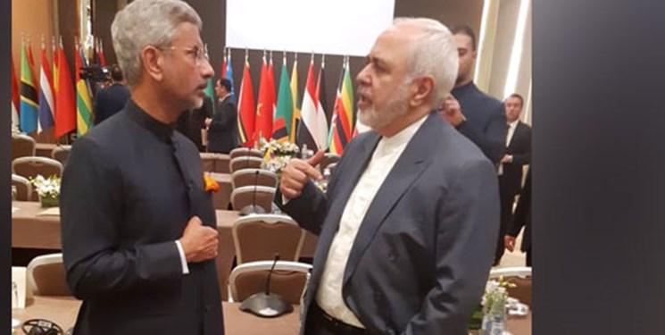 دیدار وزیر خارجه هند با همتای ایرانی در باکو