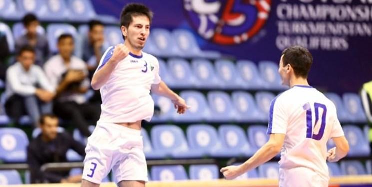مقدماتی مسابقات فوتسال قهرمانی آسیا|پیروزی قاطعانه ازبکها برابر افغانستان