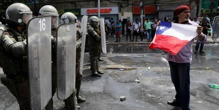 ناآرامیهای شیلی| تعداد کشتهها به ۱۸ نفر افزایش یافت