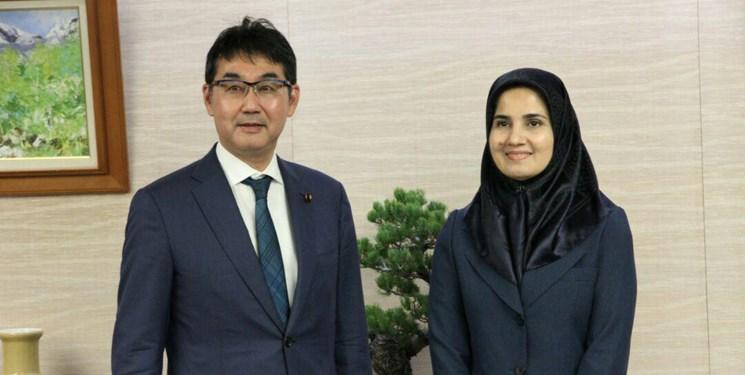 دیدار جنیدی با وزیر دادگستری ژاپن