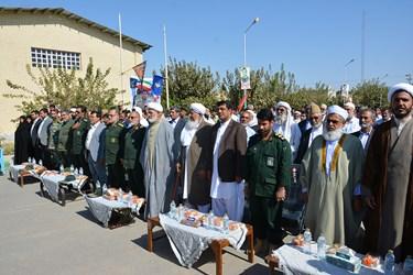 برگزاری یادواره سردار شهید حاج حبیب لکزایی در شهرستان خاش