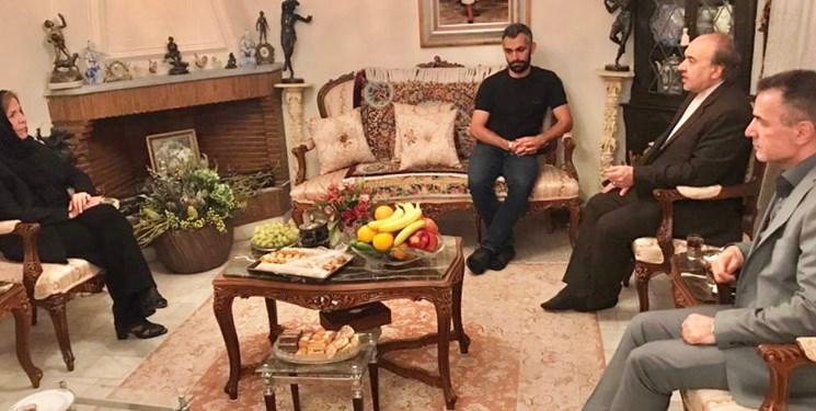سلطانیفر و انصاریفرد در منزل مرحوم کاشانی/کاشانی چهره ای ملی و یک قهرمان با اخلاق و مدیربود