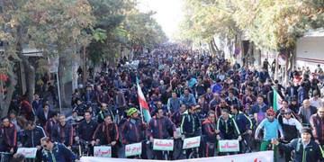 15 هزار نفر در بناب رکاب زدند/ برند عنوان شهر دوچرخه ایران متعلق به بناب