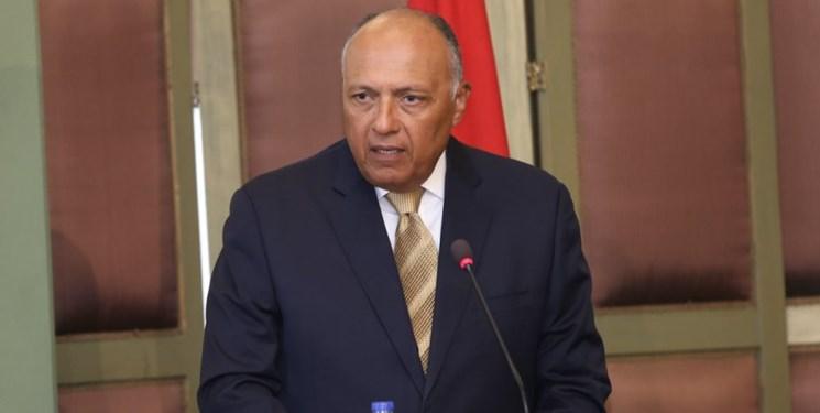 وزیر خارجه مصر نیز برای دولت وفاق ملی لیبی خط و نشان کشید