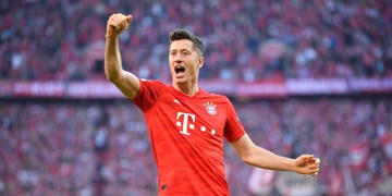 صعود لواندوفسکی به رده چهارم برترین گلزنان تاریخ لیگ قهرمانان اروپا