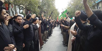 مراسم دستهروی نیروهای مسلح در سالروز رحلت پیامبر (ص)در گرگان+تصاویر