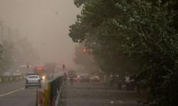 توفان با سرعت 90کیلومتر بر ساعت در آبادان