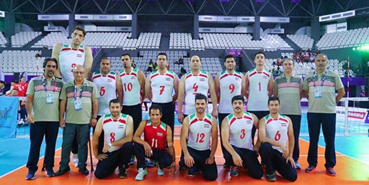 والیبالیستها در مشهد اردو میزنند/ دیدار دوستانه تیم ملی والیبال نشسته ایران با تیم روسیه