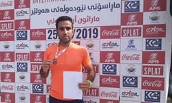 کسب مدال برنز توسط دونده زنجانی در مسابقات اربیل