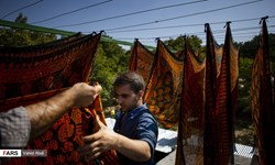 فیلم| تولید گرانترین روسریهای صادراتی دنیا با سابقه 2 هزار سال در اسکو