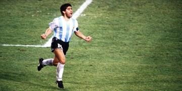مارادونا پیراهن جام جهانی 86 را حراج کرد+ عکس