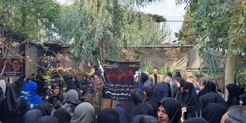 پیکر اعظم طالقانی در تهران تشییع شد