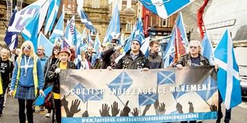 تظاهرات استقلالطلبانه هزاران اسکاتلندی در گلاسگو